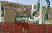 fotos de la montaña rusa Inferno en el parque temático Terra Mítica