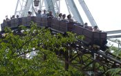 photos of Jet Coaster roller coaster in Nagashima Spa Land theme park
