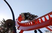 fotos de la montaña rusa Abismo en el parque temático Parque de atracciones de Madrid