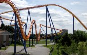 photos of Behemoth roller coaster in Canada's Wonderland theme park