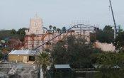 fotos de la montaña rusa Sand Serpent en el parque temático Busch Gardens Tampa