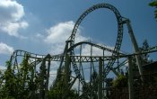 photos of Colossus roller coaster in Thorpe Park theme park