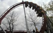 photos of Dæmonen - The Demon roller coaster in Tivoli Gardens theme park