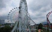 fotos de la montaña rusa Dodonpa - Gundam the ride en el parque temático Fuji-Q Highland
