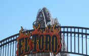 photos of El Toro roller coaster in Six Flags Great Adventure theme park