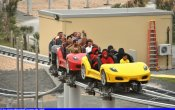 fotos de la montaña rusa Fiorano GT Challenge en el parque temático Ferrari World