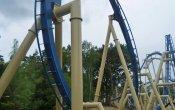 photos of Oziris roller coaster in Parc Astérix theme park