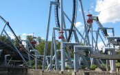 photos of Great Bear roller coaster in Hersheypark theme park