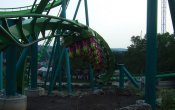 photos of Hydra the Revenge roller coaster in Dorney Park & Wildwater Kingdom theme park