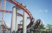 fotos de la montaña rusa Iron Dragon en el parque temático Cedar Point