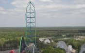 photos of Kingda Ka roller coaster in Six Flags Great Adventure theme park