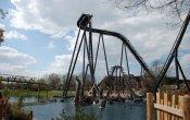 fotos de la montaña rusa Krake en el parque temático Heide Park