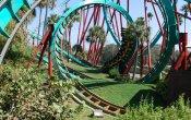 fotos de la montaña rusa Kumba en el parque temático Busch Gardens Tampa