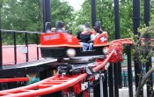 photos of Big Spin roller coaster in Six Flags Over Texas theme park
