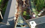fotos de la montaña rusa Matterhorn Blitz en el parque temático Europa Park