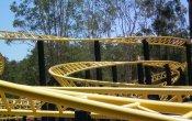 fotos de la montaña rusa Mick Doohan's Motocoaster en el parque temático Dreamworld