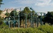 fotos de la montaña rusa Mini Express en el parque temático Discovery World
