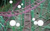 fotos de la montaña rusa Moncayo en el parque temático Parque de atracciones de Zaragoza