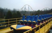 photos of Nitro roller coaster in Six Flags Great Adventure theme park