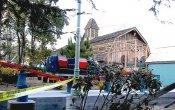 fotos de la montaña rusa Percy's Railway en el parque temático Six Flags Magic Mountain