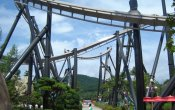 photos of Phaethon roller coaster in Gyeongju World theme park
