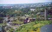 fotos de la montaña rusa Pikajuna  en el parque temático Linnanmäki