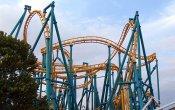fotos de la montaña rusa Poltergeist en el parque temático Six Flags Fiesta Texas