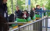 photos of Ricochet roller coaster in Kings Dominion theme park