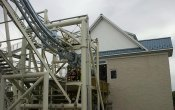 photos of Roller Soaker roller coaster in Hersheypark theme park