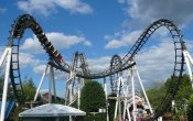 photos of Sidewinder roller coaster in Hersheypark theme park