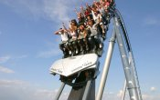 photos of Silver Star roller coaster in Europa Park theme park