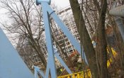 photos of Skyrush roller coaster in Hersheypark theme park