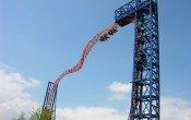 fotos de la montaña rusa Skywheel en el parque temático Skyline Park