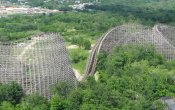photos of Son Of Beast roller coaster in Kings Island theme park