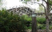 fotos de la montaña rusa Stampida en el parque temático Port Aventura