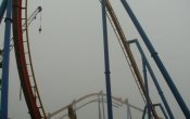 photos of Superman - Ultimate Flight roller coaster in Six Flags Great Adventure theme park