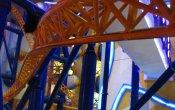 fotos de la montaña rusa Supersonic Odyssey en el parque temático Berjaya Times Square Theme Park
