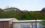 photos of The Boss roller coaster in Six Flags St. Louis theme park