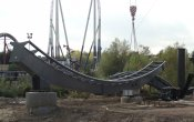 photos of The Swarm roller coaster in Thorpe Park theme park