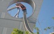 fotos de la montaña rusa Thunder Dolphin en el parque temático Tokyo Dome City
