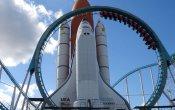 fotos de la montaña rusa Venus GP en el parque temático Space World