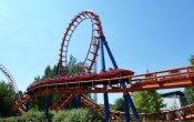fotos de la montaña rusa Waly Coaster en el parque temático Walygator Parc