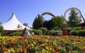photos of Boomerang roller coaster in Walibi Rhone Alpes theme park